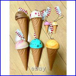 Food Samples Ice Cream Pieces Set Strap Chocolate Mint Sorbet Etc