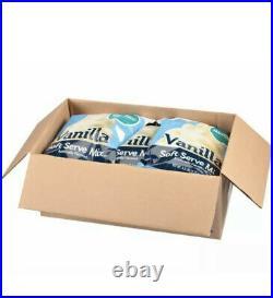 Frostline Vanilla Soft Serve Ice Cream Mix (6 Bags) 6lbs each
