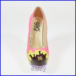 GELATO ice cream shoes, sprinkle, chocolate, vanilla, strawberry, yummy