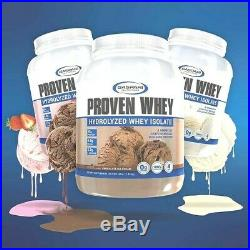 Gaspari Nutrition Proven Whey Isolate 25g Protein 60 Servings, 4 lbs PICK FLAVOR