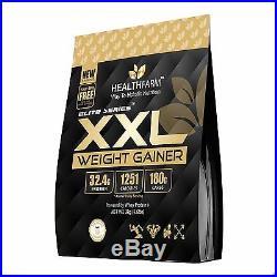 HEALTHFARM WHEY PROTEIN XXL weight gainer Nutrition CHOCOLATE ICE CREAM 6.6LBS