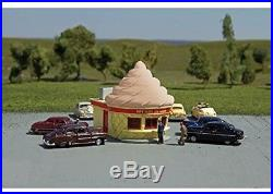 HO Ice Cream Stand Chocolate. Bachmann Trains. Free Shipping