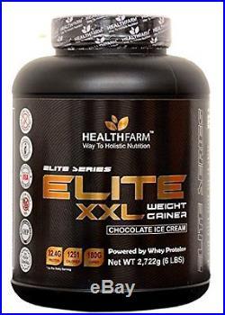 HealthFarm Elite XXL Weight Gainer 6lbs / 2.7kg (Chocolate Ice Cream)
