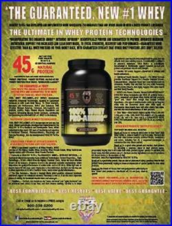 Healthy'n Fit 100% Whey Pro Am, Vanilla ice Cream Flavor 5-Pound Bottle Tub