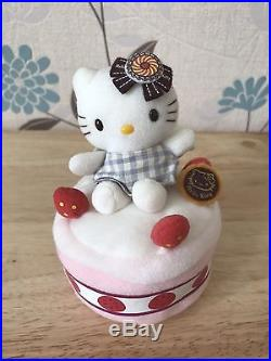 Hello Kitty Rare Sweet Plush Set Ice Cream Strawberry Chocolate Cake Cinnamon