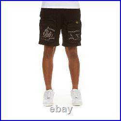 ICECREAM Clothing Men's Shorts Sports Workout Activewear Chocolate Shorts