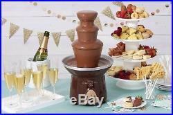 Ice Cream Ice Cream Chocolate Fountain Fondue Dessert Makers 4 lb. Capacity New