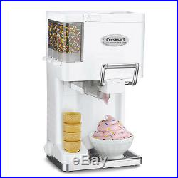 Ice Cream Maker 1.5 Quart Frozen White Yogurt Freezer Sprinkles Chocolate Cookie
