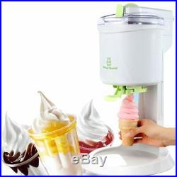 Ice Cream Maker Machine DIY Homemade Home Milk Vanilla Chocolate Yoghurt Cream