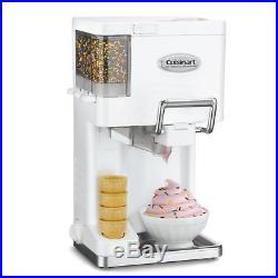 Ice Cream Maker Soft Serve 1.5 Qt Mix It Yoghurt Strawberry Chocolate White NEW