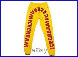 Icecream Chocolate Sweatpant Spectra Yellow 481-8100 Free Shipping