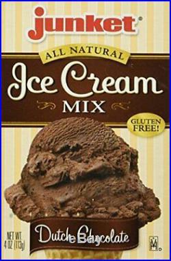 Junket Ice Cream Mix Dutch Chocolate, 4 oz