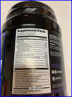 KETO OS MCT PRO Chocolate Ketones Kan Canister 30 Serving Charged Ice Cream