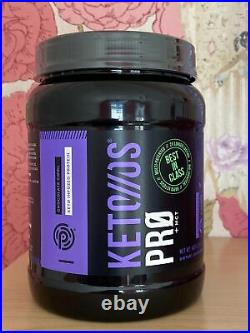KETO OS Pro MCT Chocolate Swirl Ketones Kan Canister Ice Cream 30 Servings
