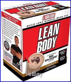 Labrada Nutrition Lean Body Chocolate Ice Cream 42-2.78oz (79g) packets