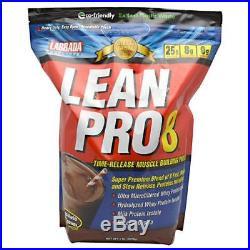 Labrada Nutrition, Lean Pro8 Chocolate Ice Cream 5lb (2270g)