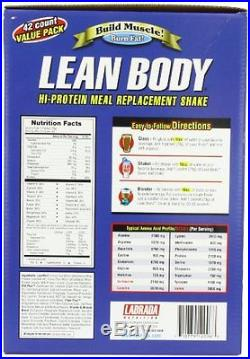 Lean Body Chocolate Ice Cream 79 Gram Packets Pack Of 42 Stained Flow