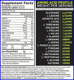 Lean Whey Revolution Fat Metablising Protein Powder Whey Protein Isolate Hydro