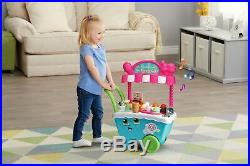 LeapFrog Scoop And Learn Ice Cream Cart Kids Toys Play New Best Pretend Children
