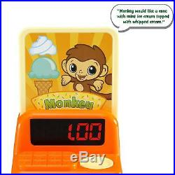 LeapFrog Scoop Learn Ice Cream Cart Toddler Girl Boy Kid Pretend Role Play Toy