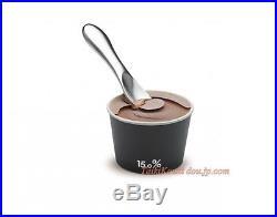 Lemnos 15.0% ice cream spoon No. 02 chocolate JT11G-12