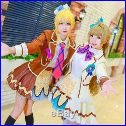 Love live Lovelive Ice Cream Chocolate Eli Kotori Cosplay Costume Complete Set