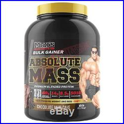 Max's Supplements ABSOLUTE MASS 6lbs Chocolate Mudcake Or Vanilla Ice Cream