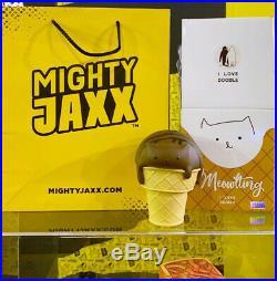 Mighty Jaxx Meowlting Cat Chocolate Ice Cream Character Model Figure Toy