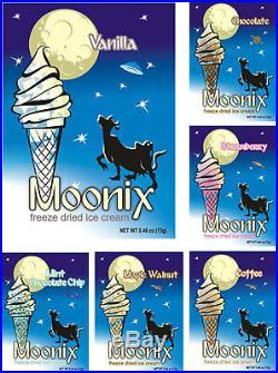 Moonix Freeze Dried Ice Cream 25ct