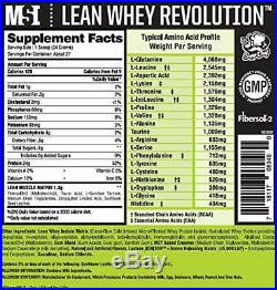 MuscleSport LeanWhey Revolution Fat Burning Weight Loss Protein Incredible taste