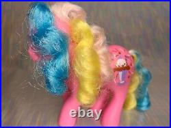 My Little Pony G1 MLP Sippin' Soda Pony CHOCOLATE DELIGHT with SUNDAE Rare