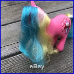 My Little Pony G1 Vintage Chocolate Delight and Ice Cream Accessory RARE As Is