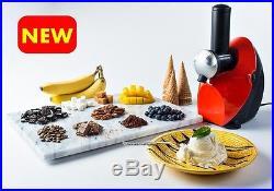New Ice Cream Maker Blender Machine Frozen Dessert Fruit Yogurt Berry Chocolate