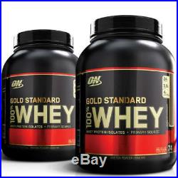 Optimum Nutrition 100% Gold Standard Whey Protein Powder 5lb Double Deal
