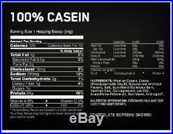 Optimum Nutrition Gold Standard 100% 5lb Gold Standard Casein 4lb Protein Powder