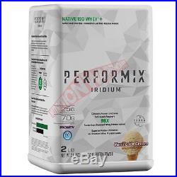 Performix NATIVE ISO WHEY 2lbs-Chocolate Cake, Fruity Charms Or Vanilla Ice Cream
