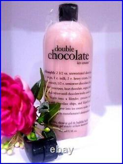 Philosophy Double Chocolate Ice Cream Shower Gel 32 oz ORIGINAL- SEALED-NEW