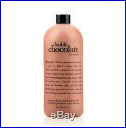 Philosophy Double Chocolate Ice Cream Shower Gel Super Size 3-in-1 32 Oz + Pump