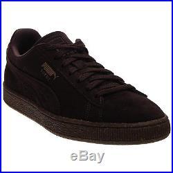 Puma Mens Suede Ice Cream Fashion Sneakers Chocolate Brown/Chipmunk 10.5 DM US