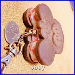 Q-pot Disney Minnie Mouse Ice Cream Chocolate Cookie Bag Charm