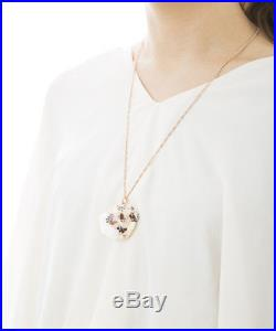 Q-pot Strawberry Chocolate Whip Ice Cream Necklace Japan F/S NEW