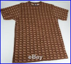 Rare Billionaire Boys Club BBC Ice Cream Chocolate Waffle Print T Shirt Size M