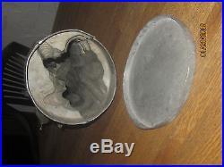 Rare Large George Washington 15.5 Pewter Mold Ice Cream Chocolate Candy