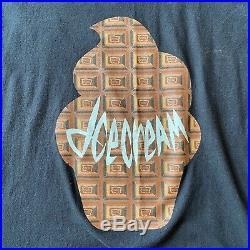 Rare OG BBC Billionaire Boys Club Ice Cream Chocolate Waffle Tee Shirt 2XL