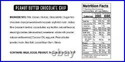 Real Good Foods, Super Premium Ice Cream, Peanut Butter Chocolate Chip, Pint 8