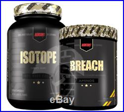 Redcon1 Isotope WPI Protein & Breach BCAA Stack Value Recovery Muscle Gain