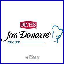 Rich Jon Donaire Uniced Chocolate Vanilla Ice Cream Cake, 64 Ounce - 4 per case