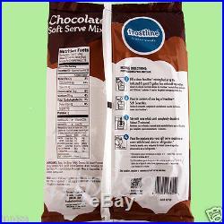 SOFT SERVE MIX, 6 Bags x 6 lbs, VANILLA & CHOCOLATE, ICE CREAM MIX, FROSTLINE