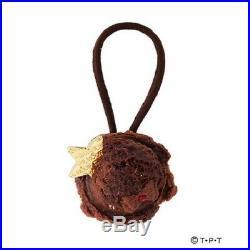Sailor Moon Q-pot. Ice Cream Hair Rubber Sailor Pluto chocolate ice creamoon