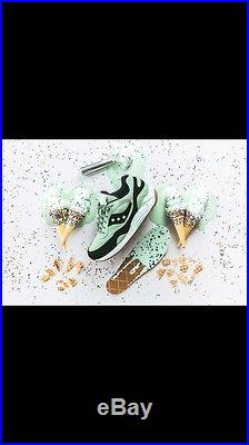 Saucony G9 Shadow 6 Scoops Pack Mint Chocolate Chip Ice Cream Size 11.5 New